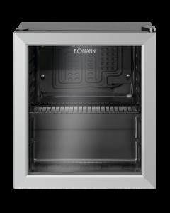 Bomann Glastür-Kühlschrank KSG 7282 schwarz