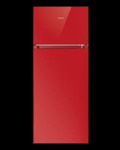 Bomann Doppeltür-Kühlschrank DT 7318 rot