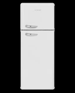 Bomann Retro-Doppeltür-Kühlschrank DTR 353 weiß