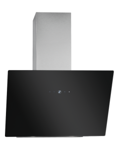 Bomann Kopffreie Vertikal-Haube DU 7606 G schwarz/Edelstahl