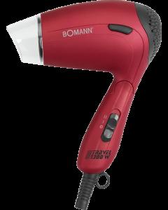Bomann Reisehaartrockner HTD 8005 CB metallic/rot