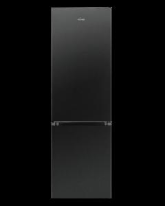 Bomann Kühl-/Gefrierkombination KG 184.1 Edelstahl-Optik schwarz