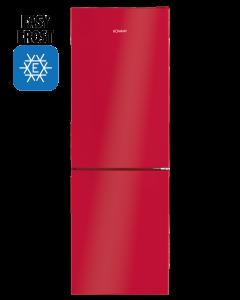 Bomann Kühl-/Gefrierkombination KG 7319.1 rot