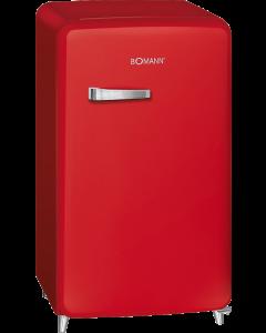 Bomann Retro-Kühlschrank KSR 350 rot