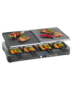 Bomann Raclette-Grill RG 2279 CB 2 in 1 schwarz