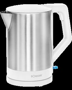 Bomann Wasserkocher WKS 3002 CB edelstahl/weiß